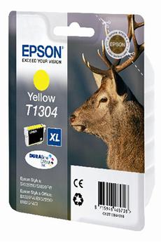 Cartouche d'encre CERF T1304 XL JAUNE Epson