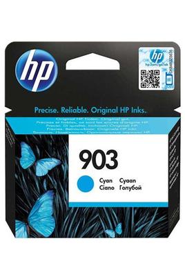 Cartouche d'encre couleur Cyan HP 903 Consommable d'origine Pour imprimante jet d'encre HP