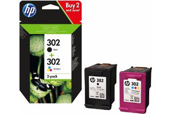 Cartouche d'encre HP 302 N + 302 3CL Hp
