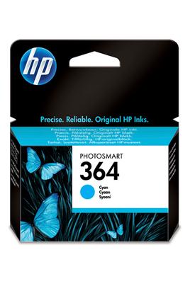 Cartouche d'origine HP n°364 cyan