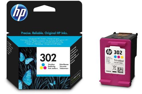 Cartouche d'encre Pack 302 3CL Pour imprimante jet d'encre HP Consommable d'origine
