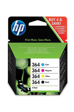 Cartouche D Encre Hp Pack 364 4 Couleurs Sd534ee Darty