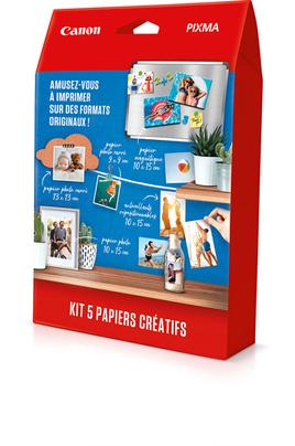 Canon Kit papiers créatifs 5 papiers