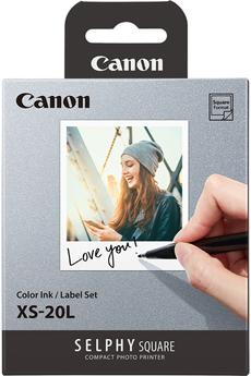 Papier d'impression Canon Kit 20 Impressions format...