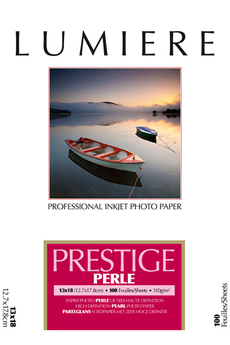 Papier d'impression PAPIER PHOTO PERLE 13X18 310 GR Lumiere