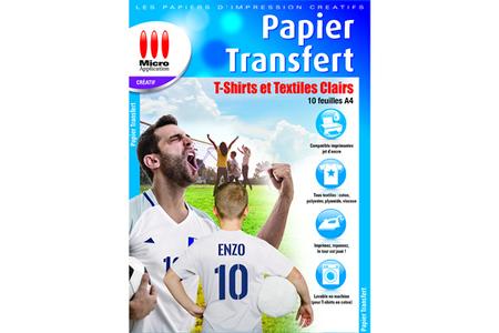 Papier d'impression Micro Appli Papier Transfert