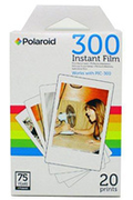 Polaroid 20 FEUILLES PAPIER PHOTO PIF300X2