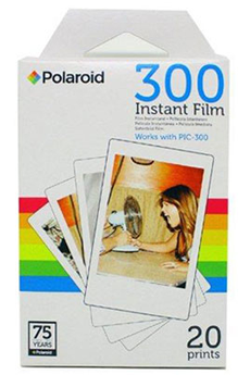 Papier d'impression 20 FEUILLES PAPIER PHOTO PIF300X2 Polaroid