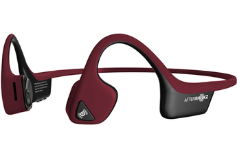 Casque audio Aftershokz Trekz AIR Rouge