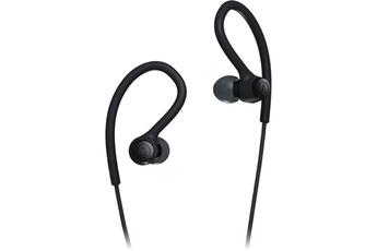 Ecouteurs Audiotechnica Ecouteurs intra-auriculaires filaires sport ATH-SPORT10BK Noir