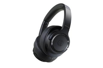 Casque audio Audiotechnica circum-aural sans fil à réduction de bruit ATH-SR50BT noir