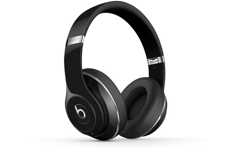 casque audio beats studio wireless gloss black darty. Black Bedroom Furniture Sets. Home Design Ideas