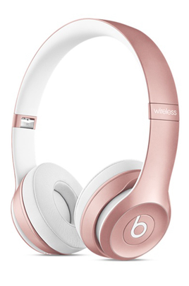 Casque arceau SOLO2 WIRELESS ROSE GOLD Beats