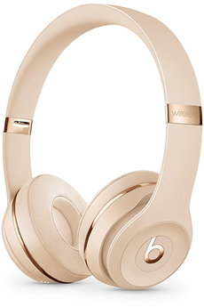 Casque audio Beats Solo3 Satin Gold