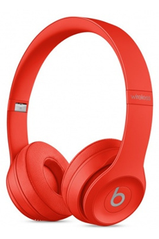 Casque audio Beats SOLO 3 WIRELESS ROUGE