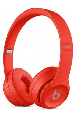 casque audio beats solo 3 wireless rouge darty. Black Bedroom Furniture Sets. Home Design Ideas