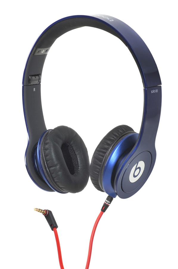 casque audio beats solo hd by dr dre bleu solo hd by dr. Black Bedroom Furniture Sets. Home Design Ideas