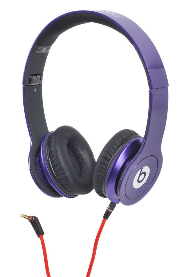 casque audio beats solo hd by dr dre violet 1349783 darty. Black Bedroom Furniture Sets. Home Design Ideas