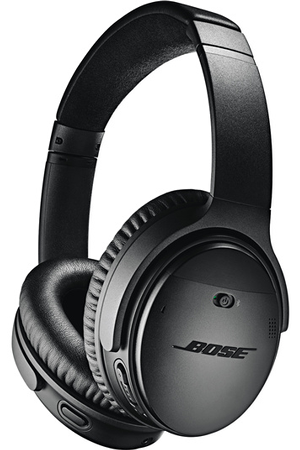 casque audio bose quietcomfort 35 ii noir qc 35 serie ii noir darty. Black Bedroom Furniture Sets. Home Design Ideas