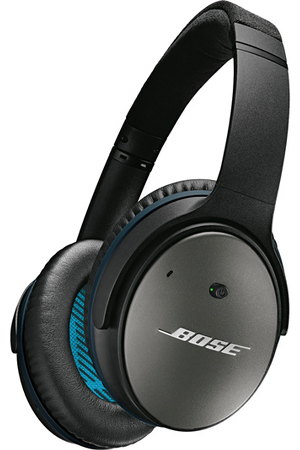 casque audio bose quietcomfort 25 noir apple qc25 noir darty. Black Bedroom Furniture Sets. Home Design Ideas