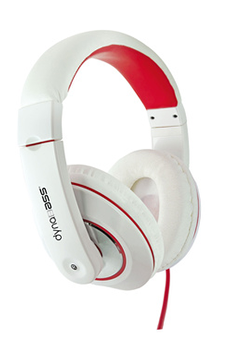 Casque audio Dynabass DBX01 WHITE