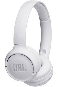 Casque audio Jbl T500 BT BLANC