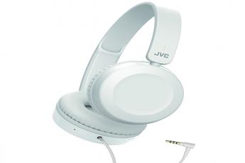 Casque audio Jvc Casque supra-aural filaire HA-S31M blanc