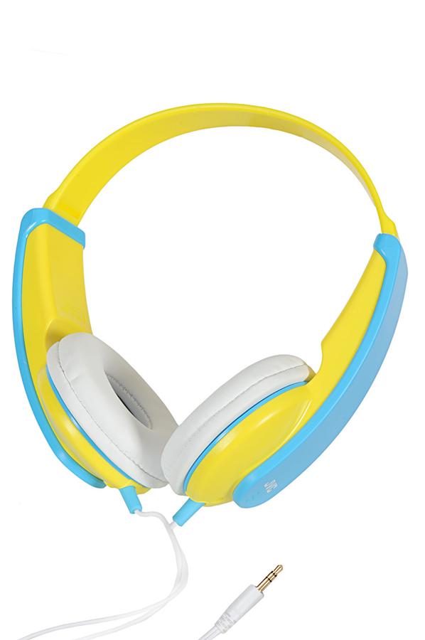 casque audio jvc ha kd5 kid bleu jaune 1331434 darty. Black Bedroom Furniture Sets. Home Design Ideas