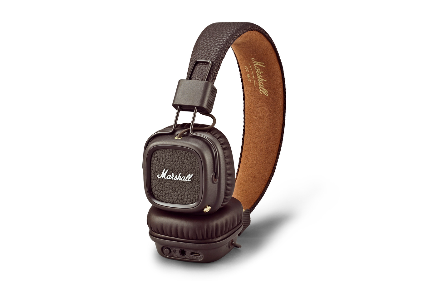 casque audio marshall major 2 bluetooth brown 4274687. Black Bedroom Furniture Sets. Home Design Ideas