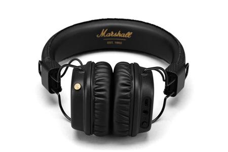 casque audio marshall major ii black bluetooth darty. Black Bedroom Furniture Sets. Home Design Ideas