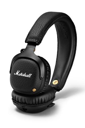 casque audio marshall mid bluetooth black darty