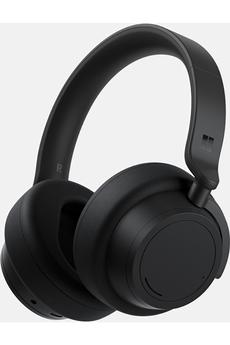 Casque audio Microsoft Surface Headphones 2 - Casque Bluetooth à réduction de bruit - Noir Mat
