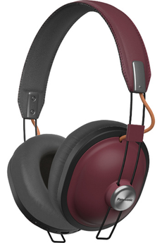 Casque audio Panasonic HTX80B bordeaux