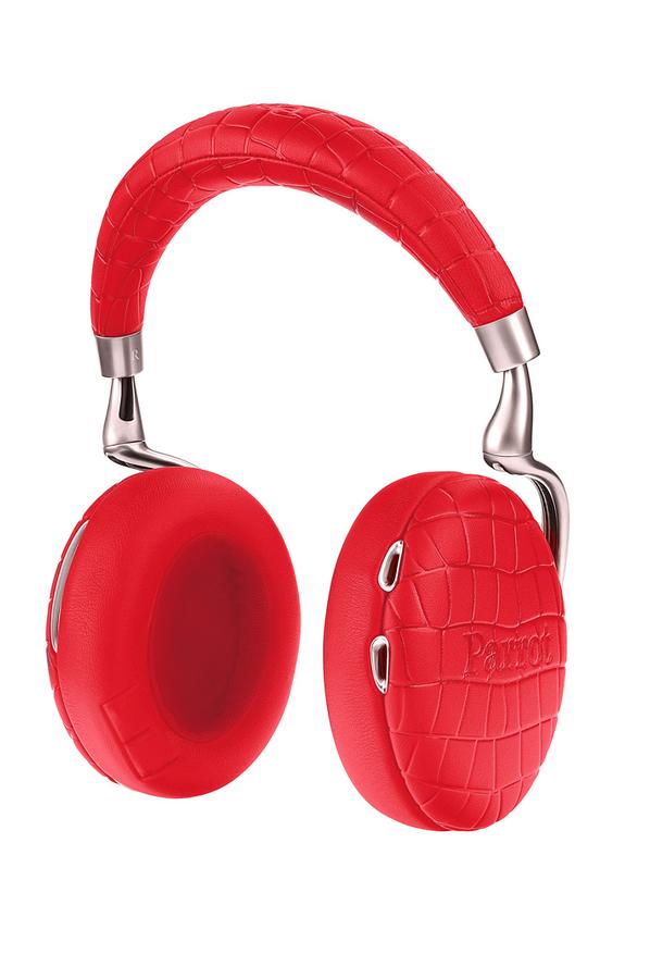 casque audio parrot zik 3 croco rouge 4177975 darty. Black Bedroom Furniture Sets. Home Design Ideas