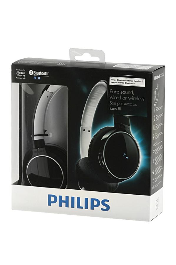 casque audio philips shb9100 noir bluetooth 1315269 darty. Black Bedroom Furniture Sets. Home Design Ideas