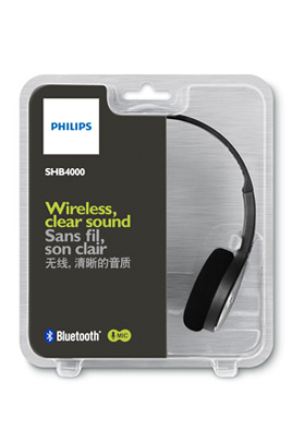 casque arceau philips shb4000 noir bluetooth 1381865. Black Bedroom Furniture Sets. Home Design Ideas