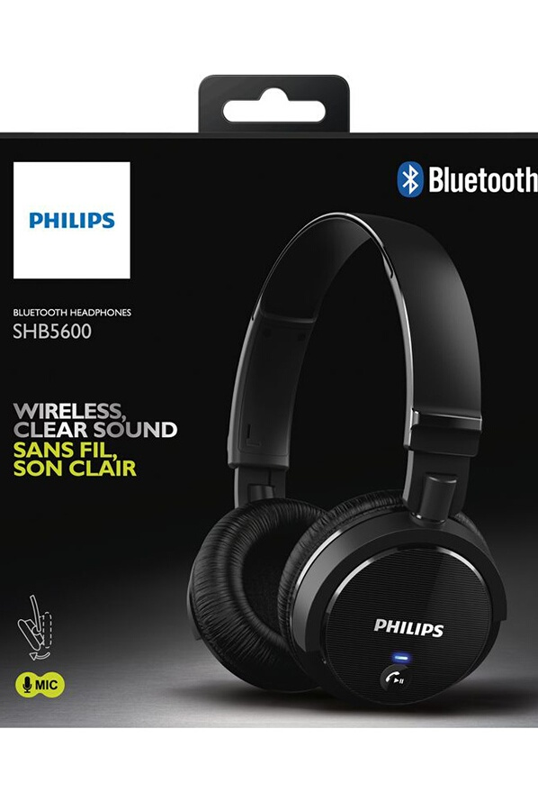 casque audio philips shb5600bk 10 4056957 darty. Black Bedroom Furniture Sets. Home Design Ideas