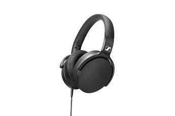 Casque audio Sennheiser Casque arceau pliable avec télécommande intelligente et une réponse sonore très étendue avec des basses dynamiques