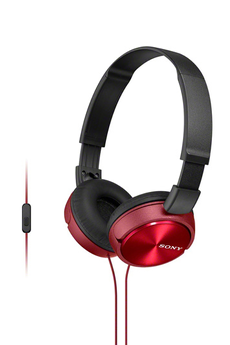 Casque arceau MDR-ZX310APR Rouge Sony