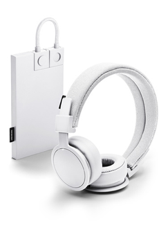Casque audio Urban Ears PLATTAN ADV BT WHITE + BATTERIE DE SECOURS