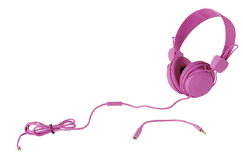 Casque audio Wesc CONGA MATTE rose