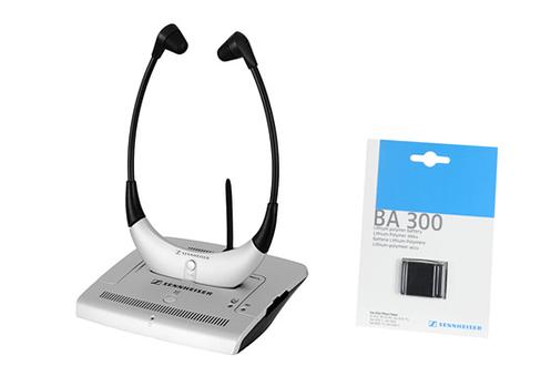 Casque TV sans fil RS4200 + BA300 Sennheiser
