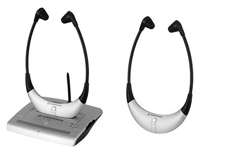 casque tv sans fil sennheiser rs4200 2ii uhf darty. Black Bedroom Furniture Sets. Home Design Ideas