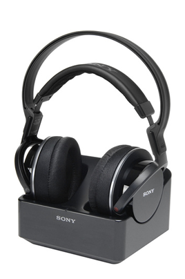 casque tv sans fil sony mdr rf855 noir 1371886. Black Bedroom Furniture Sets. Home Design Ideas