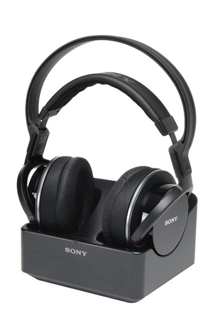 casque tv sans fil sony mdr rf855 noir darty. Black Bedroom Furniture Sets. Home Design Ideas