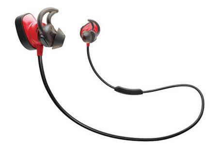 Rouge Intense Bose /Écouteurs SoundSport pour Appareils Apple
