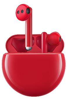 Ecouteurs Huawei Freebuds 3 Rouge