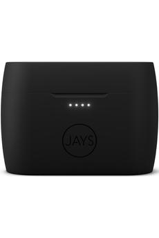 Ecouteurs Jays m-Seven Black/Black