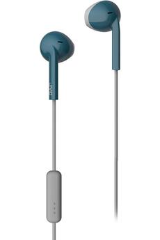 Ecouteurs Jvc Casque Kit Piéton HA-F19M Bleu