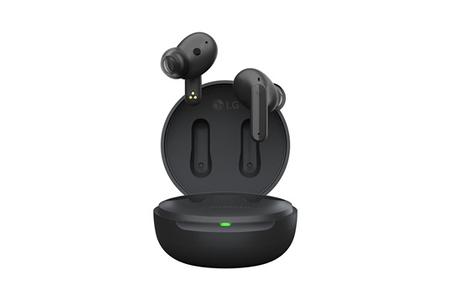 Ecouteurs Lg LG TONE Free FP5 | Ecouteurs Bluetooth True Wireless FP5 | Réduction active de bruit (ANC) | IPX4 | Noir